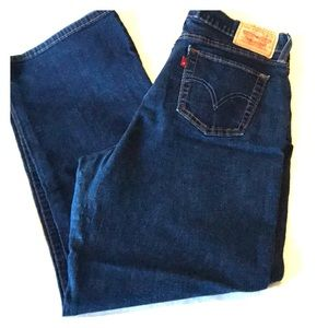 Levi's 512 perfectly slimming stretch straight leg